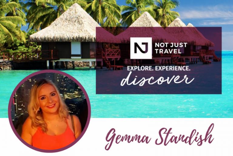 not just travel honeymoon organiser leaflet