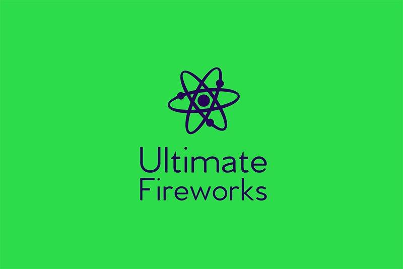 Ultimate Fireworks logo